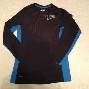 Nike Boys Elite Dri-fit long sleeve top